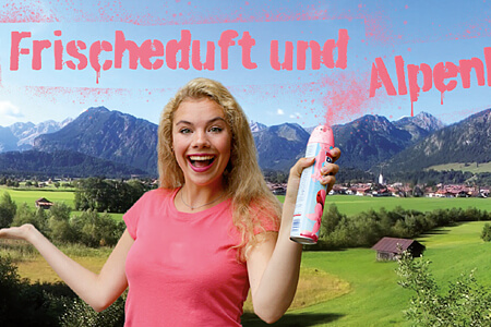 Frischeduft und Alpenluft